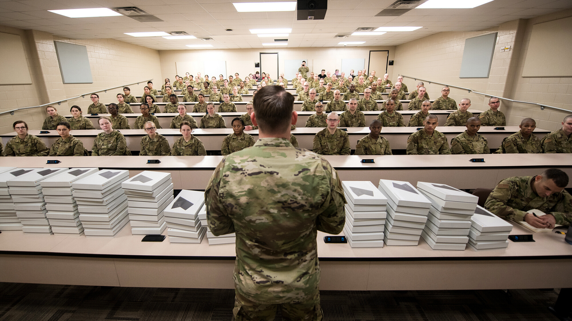 Lackland Experimenting With Tablets, Adaptive Learning for Basic Training