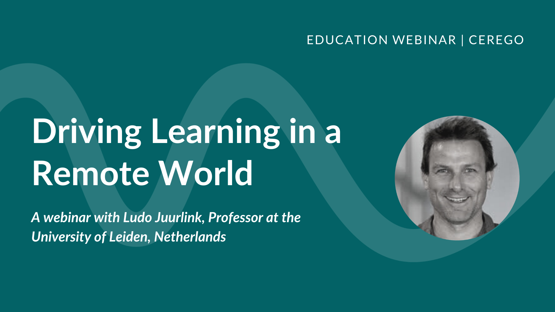 Webinar: Driving Learning in a Remote World