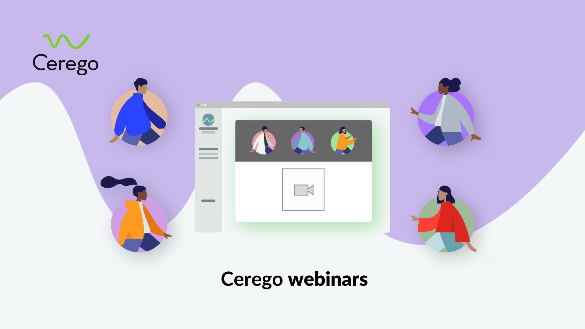 Cerego webinars