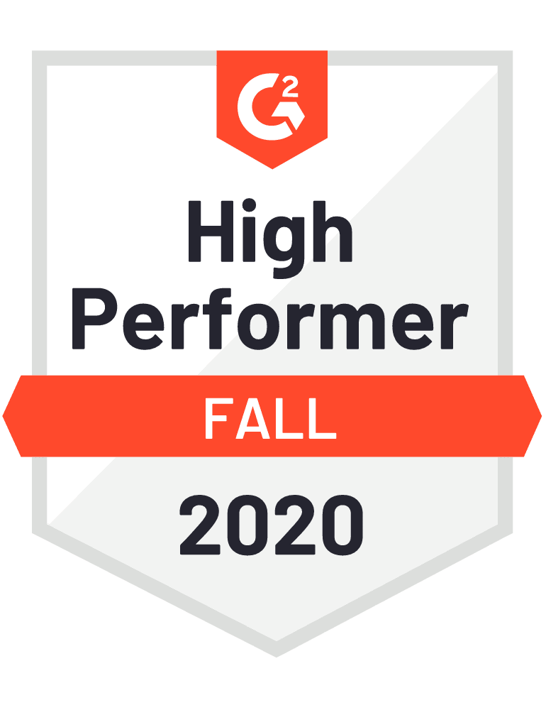 Cerego G2 High Performer Medal