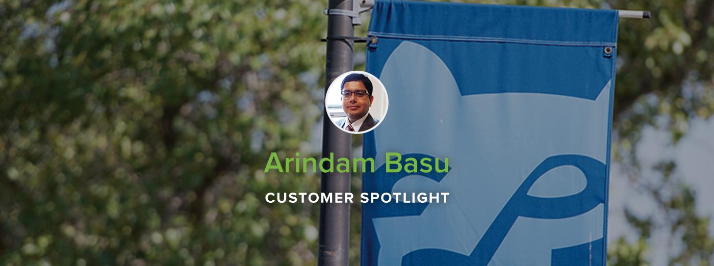 Customer Spotlight: Assistant Professor Arindam Basu, Penn State Brandywine
