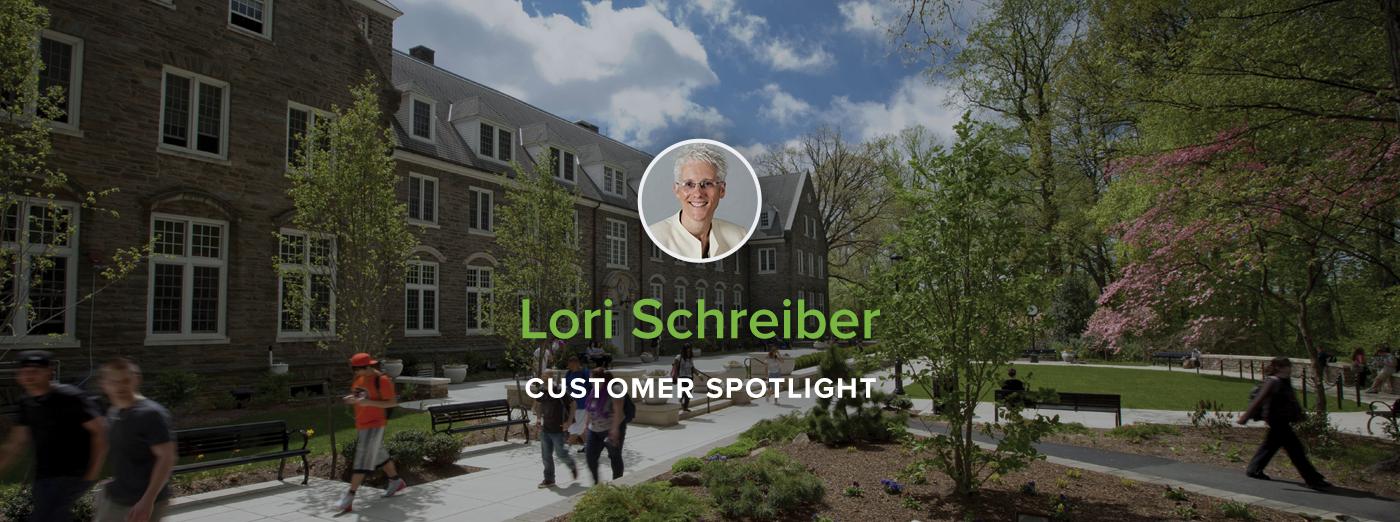 Customer Spotlight:Professor Lori Schreiber, Penn State Abington