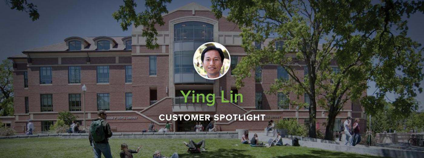 Customer Spotlight: Professor Ying Lin, Santa Rosa Junior College
